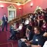 Une visite à l'Assemblée nationale du Québec pour des élèves de l'école secondaire De Mortagne