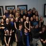 L'ensemble vocal jazz de l'école Notre-Dame en direct à la radio de Radio-Canada