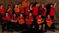 Le 1er prix pour les élèves du profil guitare de l'école secondaire du Grand-Coteau