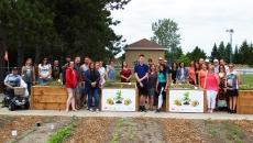 Inauguration du jardin collectif de Saint-Amable