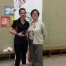 Une éducatrice du service de garde de l'école Saint-Denis reçoit le prix Mésange de l'Association de la garde scolaire