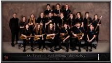 Les élèves de l'école secondaire Ozias-Leduc au Festival international de Jazz de Montréal