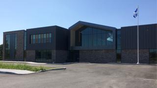 Travaux de construction à la nouvelle école à Saint-Amable