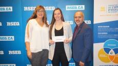 Audrey Gervais récipiendaire d'une bourse d'études de 2000 $