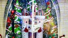 Un décor de Noël magique à l'école des Cœurs-Vaillants