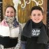 Les élèves de l'école du Carrousel tricotent pour réchauffer des coeurs