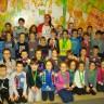 Les élèves de l'école De Bourgogne au Championnat provincial d'empilage sportif