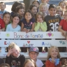 Dévoilement du Banc de l'amitié et du Banc de la paix à l'école De Bourgogne