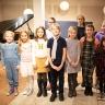 La chorale de l'école De Montarville chante pour les enfants malades