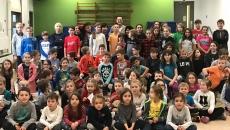 Une visite motivante à l'école Saint-Charles