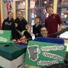Les pouces verts de l'école le Carrefour lancent l'Opération compost