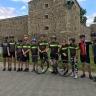 Cinq élèves du Club cycliste Les Forts parcourent 66 km
