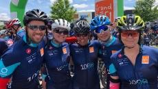 Défi relevé pour l'équipe de la CSP au 1 000 KM du Grand défi Pierre Lavoie 2019