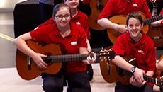 Plusieurs mentions pour le profil guitare de l'école secondaire du Grand-Coteau