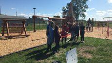 Inauguration du parc-école de l'école Saint-Denis