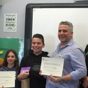 Koraly Desjardins et Anthony Shallcross - école de l'Envolée