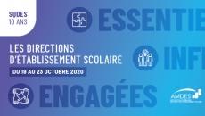 Le CSSP souligne la semaine québécoise des directions d'établissement scolaire du 19 au 23 octobre