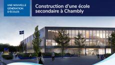 Un agrandissement « nouvelle génération » pour l'école secondaire de Chambly