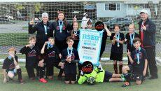 Les Patriotes de l'école de l'Amitié remportent le Festival de mini soccer RSEQ Montérégie – section récréatif